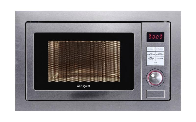 Weissgauff HMT-555 СВЧ-печьHMT-555Микроволновая печь Weissgauff HMT-555 готовая стать полезной помощницей и выгодным для кухни дополнением. Благодаря правильной регулировке режимов может за считанные минуты разогреть блюдо и разморозить продукты.