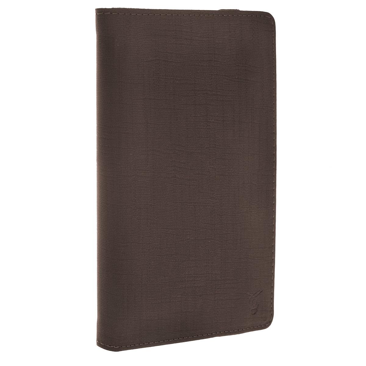 Viva Chocolate чехол для планшетов 7, Brown (VUC-CCH07-br)VUC-CCH07-brЧехол Viva Chocolate предназначен для защиты электронных устройств от механических повреждений и влаги. Крепление PVS позволяет надежно зафиксировать ваш девайс.