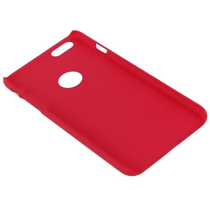Nillkin Super Frosted Shield чехол для iPhone 6 Plus, Red2000000019963Чехол Nillkin Super Frosted Shield для iPhone 6 Plus изготовлен из экологически чистого поликарбоната путем высокотемпературной высокоточной формовки. Обе стороны чехла выполнены в соответствии с самой современной технологией изготовления матовых материалов, устойчивых к оседанию пыли, и покрыты краской, светящейся под воздействием ультрафиолета. Элегантный дизайн, чехол приятен на ощупь. Жесткость чехла предотвращает телефон от повреждений во время транспортировки. Размер чехла точно соответствует размеру телефона с четким соответствием всех функциональных отверстий. Вы можете использовать чехол, как вам будет удобно. Он изготовлен из цельной пластины методом загиба, износостойкий, устойчив к оседанию пыли, не скользит, устойчив к образованию отпечатков, легко чистится. Супертонкий Не скользит в руках