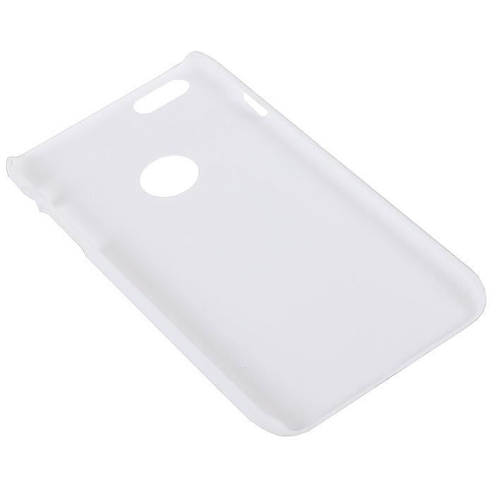 Nillkin Super Frosted Shield чехол для iPhone 6 Plus, White2000000019932Чехол Nillkin Super Frosted Shield для iPhone 6 Plus изготовлен из экологически чистого поликарбоната путем высокотемпературной высокоточной формовки. Обе стороны чехла выполнены в соответствии с самой современной технологией изготовления матовых материалов, устойчивых к оседанию пыли, и покрыты краской, светящейся под воздействием ультрафиолета. Элегантный дизайн, чехол приятен на ощупь. Жесткость чехла предотвращает телефон от повреждений во время транспортировки. Размер чехла точно соответствует размеру телефона с четким соответствием всех функциональных отверстий. Вы можете использовать чехол, как вам будет удобно. Он изготовлен из цельной пластины методом загиба, износостойкий, устойчив к оседанию пыли, не скользит, устойчив к образованию отпечатков, легко чистится. Супертонкий Не скользит в руках
