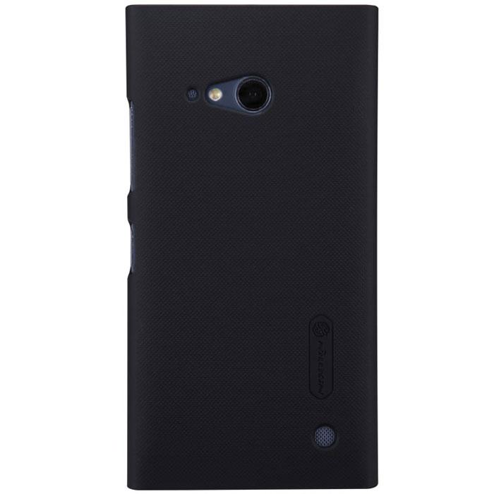 Nillkin Super Frosted Shield чехол для Nokia Lumia 730/735, Black2000000020471Накладка Nillkin Super Frosted Shield для Nokia Lumia 730/735 выполнена из высококачественного поликарбоната. Она защищает боковые стороны и заднюю крышку смартфона и надежно фиксирует телефон. Накладка также обеспечивает свободный доступ ко всем разъемам и клавишам устройства.