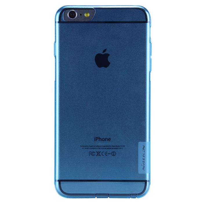 Nillkin Nature TPU Case чехол для iPhone 6 Plus, Blue2000000020020Накладка Nillkin Nature TPU Case выполнена из высококачественного силикона. Она надежно фиксирует и защищает смартфон при падении. Обеспечивает свободный доступ ко всем разъемам и элементам управления.