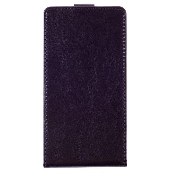 Skinbox Flip Case чехол для Explay Fresh, Black2000000021584Чехол Skinbox Flip Case для Explay Fresh выполнен из высококачественного поликарбоната и экокожи. Он обеспечивает надежную защиту корпуса и экрана смартфона и надолго сохраняет его привлекательный внешний вид. Чехол также обеспечивает свободный доступ ко всем разъемам и клавишам устройства.