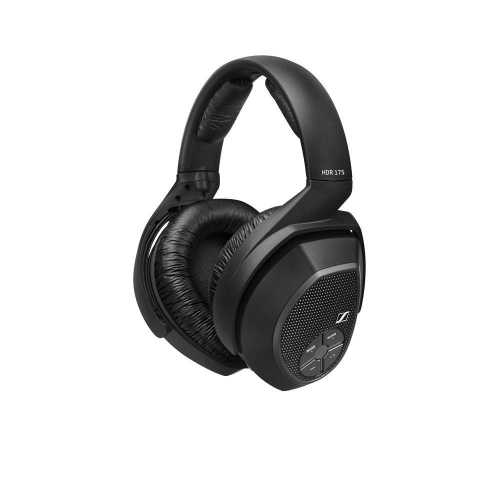 Sennheiser RS 175 беспроводные наушники505563Поднимая домашние развлечения на новый уровень, беспроводная система Sennheiser RS 175 предлагает впечатляющий набор функций, так что Вы сможете наслаждаться музыкой и телевидением в полной мере. Режимы Bass Boost и Surround Sound позволят Вам заставить домашнюю развлекательную систему работать с полной отдачей. Инновационная патентованная технология цифровой беспроводной передачи сигнала Sennheiser Advanced Digital гарантирует надежный прием и чистое звучание даже при перемещении из одной комнаты в другую. Основные органы управления расположены на наушниках, так что ничего не будет отвлекать Вас от прослушивания, а удобная посадка идеально подходит для длительного использования