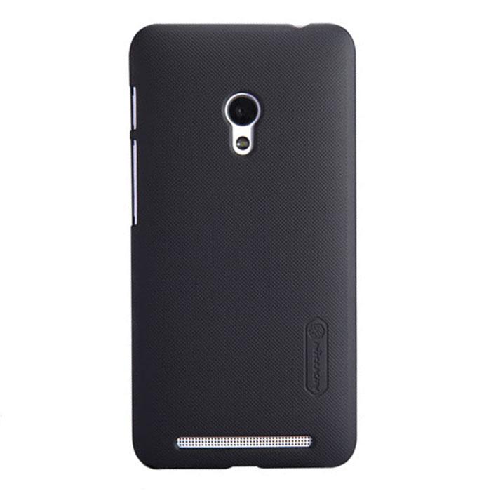 Nillkin Super Frosted Shield чехол для Asus ZenFone 4 (A450CG), Black2000000019284Накладка Nillkin Super Frosted Shield выполнена из высококачественного поликарбоната. Она надежно фиксирует и защищает смартфон при падении. Обеспечивает свободный доступ ко всем разъемам и элементам управления.