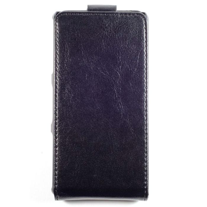 Skinbox Flip Case чехол для Sony Xperia Z3 Compact, Black2000000027760Чехол Skinbox Flip Case выполнен из высококачественного поликарбоната и экокожи. Он обеспечивает надежную защиту корпуса и экрана смартфона и надолго сохраняет его привлекательный внешний вид. Чехол также обеспечивает свободный доступ ко всем разъемам и клавишам устройства.