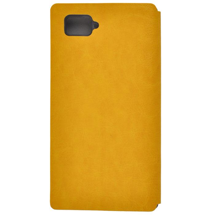 Skinbox Lux чехол для Lenovo K920, Yellow