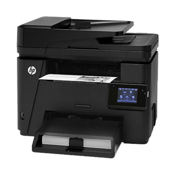 HP LaserJet Pro M225dw лазерное МФУ (CF485A)CF485AHP LaserJet Pro M225dw обеспечивает эффективную работу с документами благодаря автоматической двусторонней печати, удобному сенсорному экрану, гибким функциям сканирования, модулю беспроводной связи, встроенному сетевому интерфейсу и возможностям подключения мобильных устройств. Модуль автоматической двусторонней печати поможет сэкономить время и сократить расходы на бумагу. Сканируйте и отправляйте файлы напрямую на USB-накопители, в электронную почту, облачное хранилище или сетевые папки (доступно только для МФУ HP LaserJet Pro M225dw). Цветной сенсорный экран диагональю 7,6 см позволяет легко выбрать и запустить необходимое задание. Устройство автоматической подачи документов и лазерный картридж HP LaserJet4 с ресурсом 1500 страниц (входит в комплект) подарят дополнительное удобство работы. Встроенные функции подключения и управления позволяют раскрыть весь потенциал этого МФУ. МФУ легко настроить, поэтому вы можете приступить к печати,...