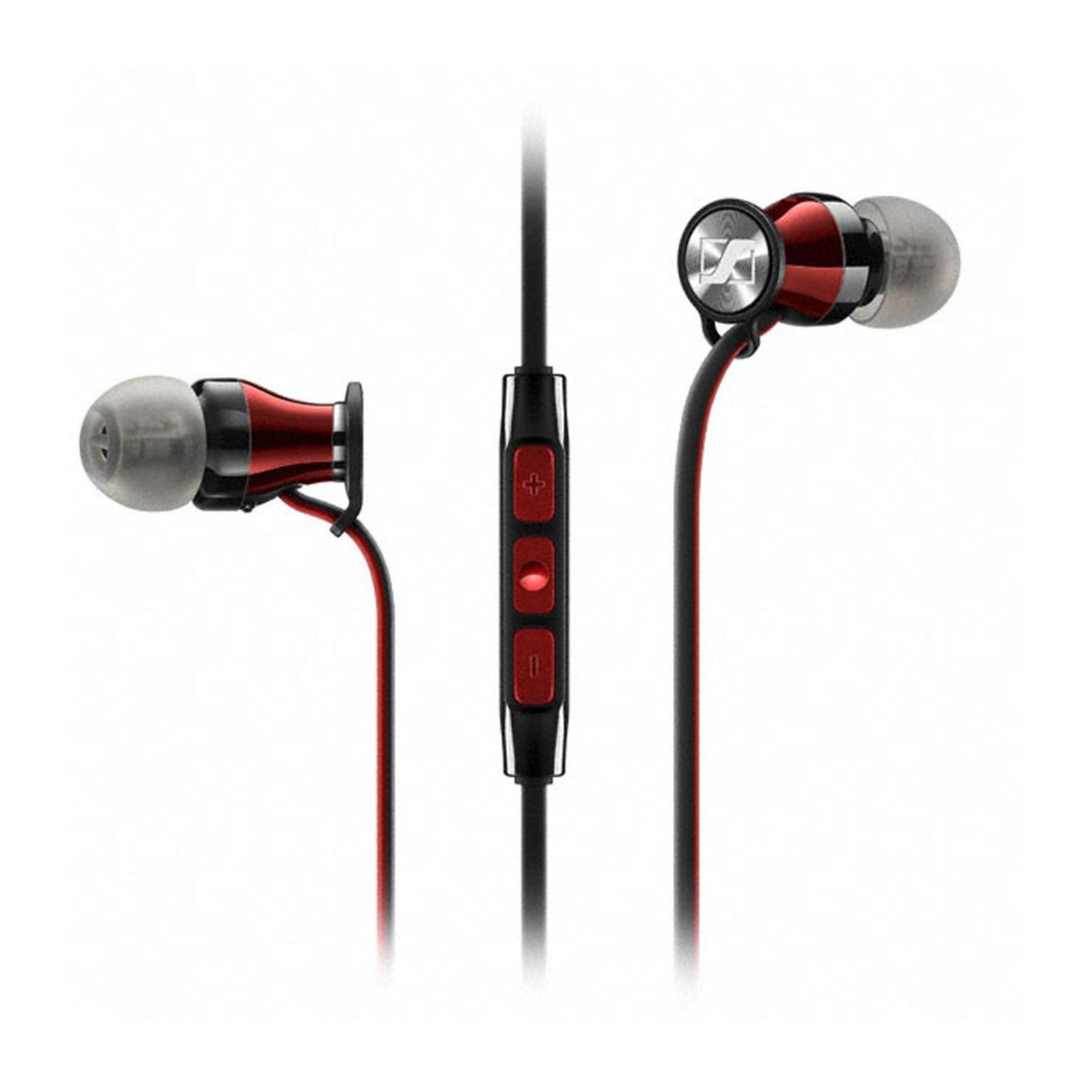 Sennheiser Momentum In-Ear M2 IEG наушники506244Новый член семейства MOMENTUM – внутриканальные MOMENTUM In-Ear сохраняют единство стиля, объединяя роскошный внешний вид с превосходным звучанием MOMENTUM In-Ear продвигают концепцию наушников на новый уровень. Сочетание элегантного вида, эргономичного дизайна и инновационной акустической инженерии обеспечивает невероятно богатое и сбалансированное звучание В истинно миниатюрных наушниках MOMENTUM In-Ear заключен не только бескомпромиссный звук, поражает и количество технологичных деталей – от прецизионных воздуховодов из нержавеющей стали до 3-кнопочного многофункционального пульта управления с микрофоном Дизайн наушников MOMENTUM In-Ear изыскан и лаконичен. Более 200 контрастных красных стежков украшают черную молнию на чехле для защиты Ваших наушников. Красно-черный кабель выходит из глянцевых красных корпусов. Со знанием дела спроектированы и ушные адаптеры для индивидуальной подгонки, с помощью которых наушники сидят как влитые Вы...