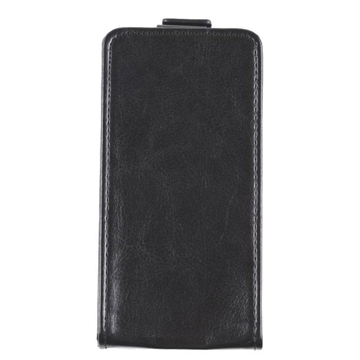 Skinbox Flip Case чехол для Alcatel One Touch Idol Mini, Black2000000018195Чехол Skinbox Flip Case для Alcatel One Touch Idol Mini выполнен из высококачественного поликарбоната и экокожи. Он обеспечивает надежную защиту корпуса и экрана смартфона и надолго сохраняет его привлекательный внешний вид. Чехол также обеспечивает свободный доступ ко всем разъемам и клавишам устройства.