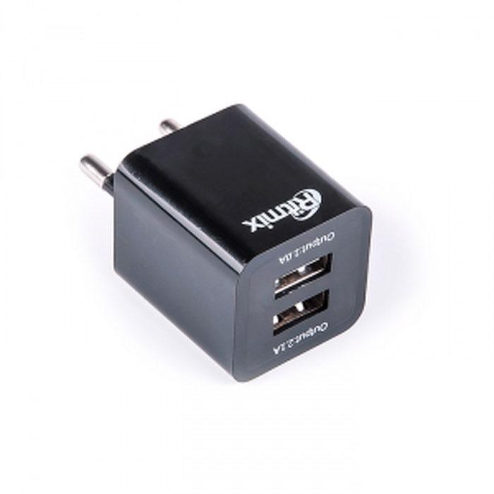 Ritmix RM-118 сетевое зарядное устройство15117505Ritmix RM-118 – это сетевое зарядное устройство с двумя портами USB для зарядки цифровых устройств с функцией заряда от USB.