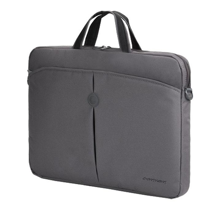 Continent CC-01, Grey сумка для ноутбука 15,6
