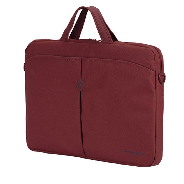 Continent CC-01, Red сумка для ноутбука 15,6