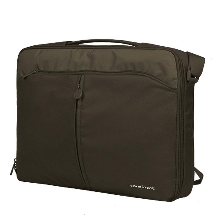 Continent CC-02, Chocolate сумка для ноутбука 15,6