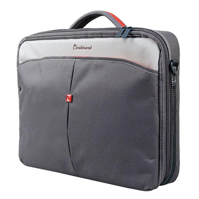 Continent CC-02, Graphite сумка для ноутбука 15,6