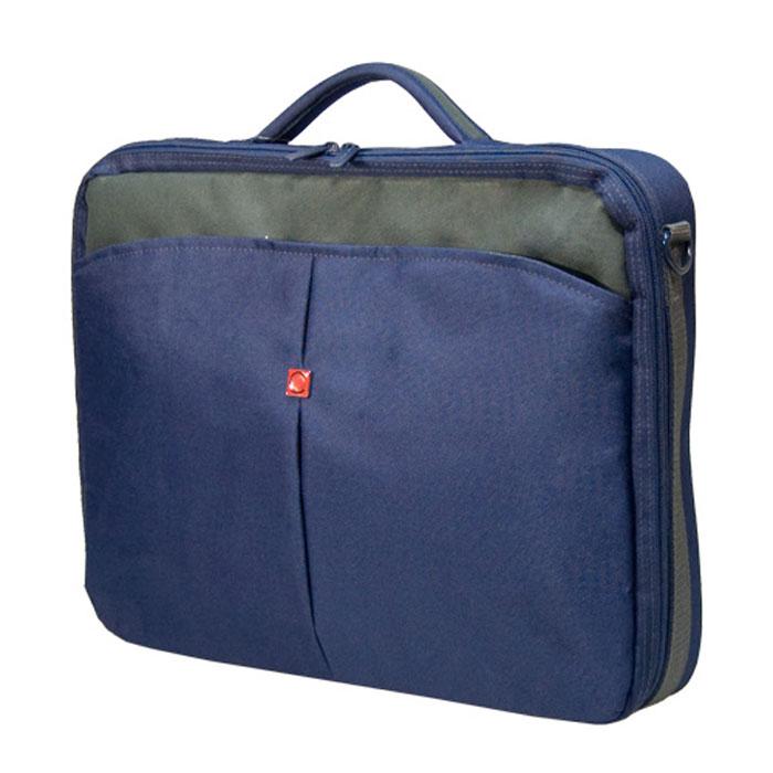 "Continent CC-02, Navy сумка для ноутбук�� 15,6"""