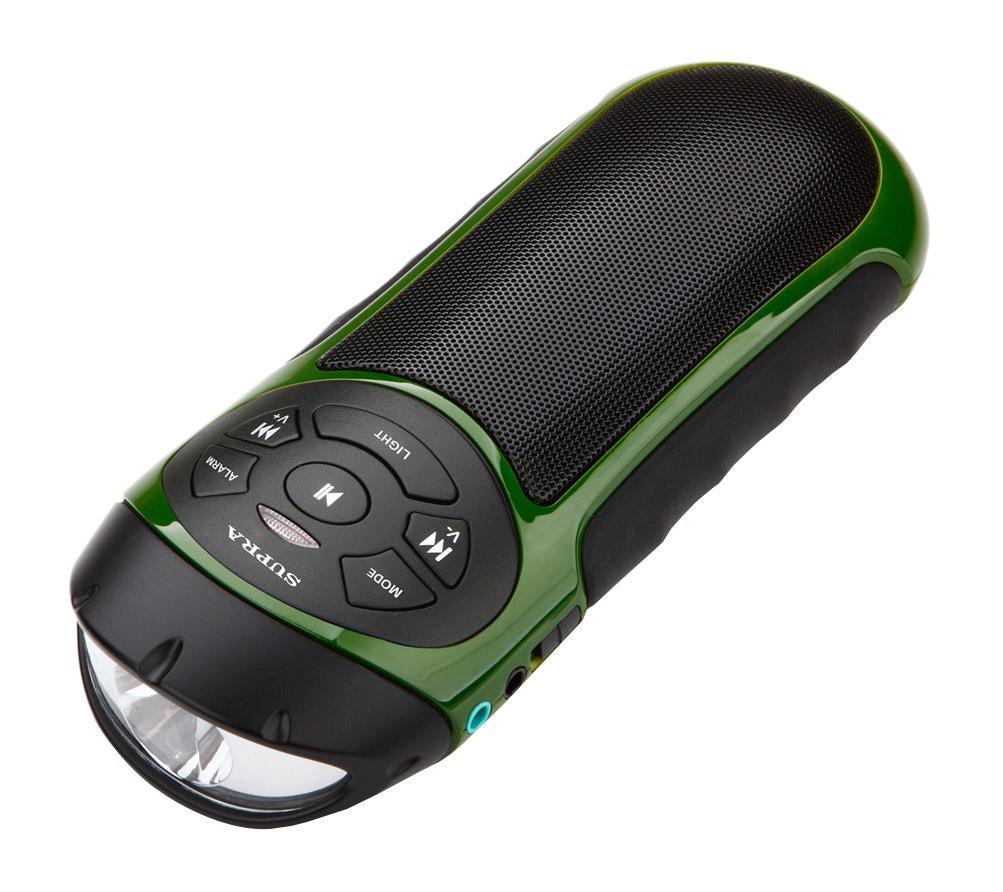 Supra PAS-6277, Green портативная акустическая системаSUPRA PAS-6277 green