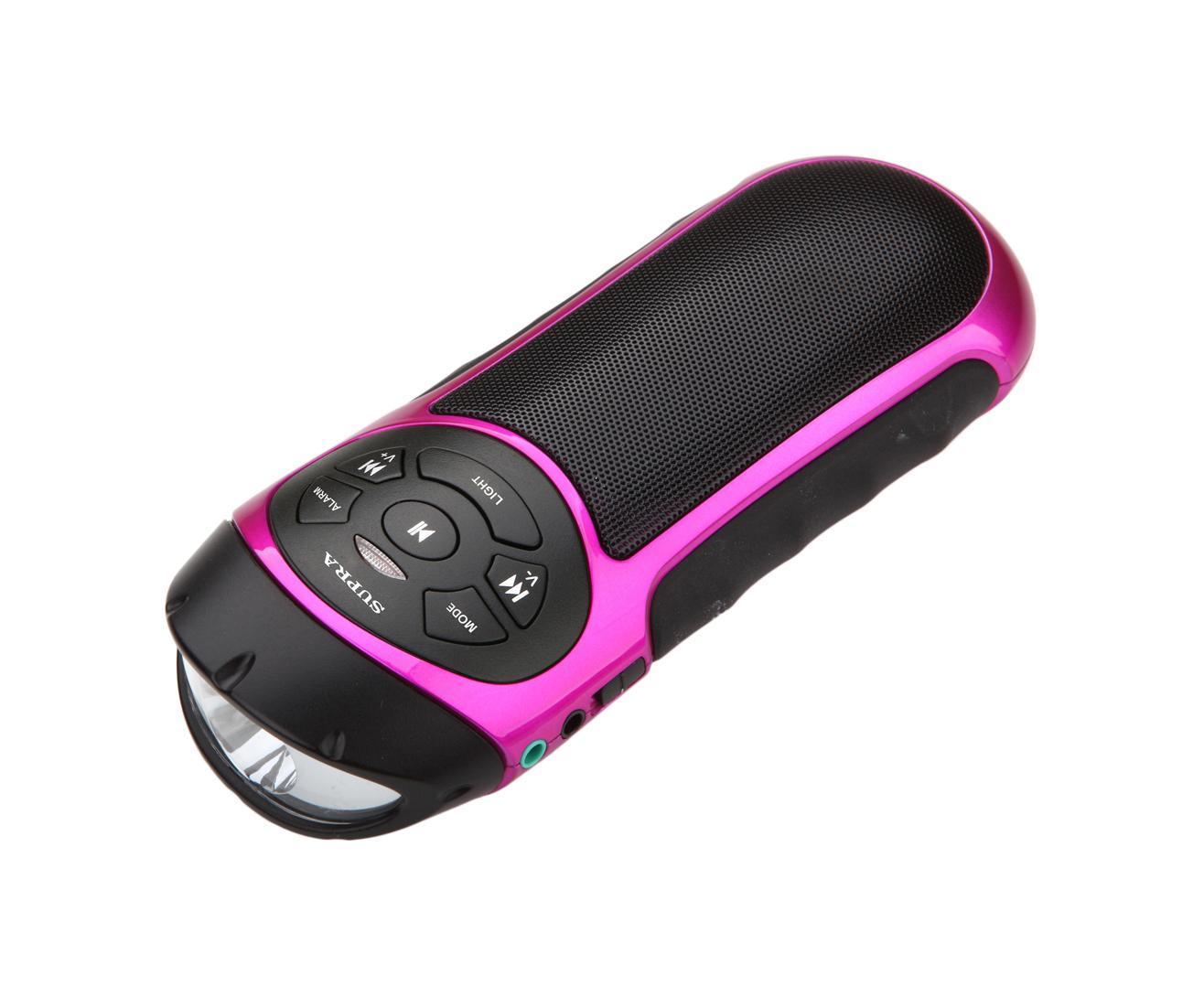 Supra PAS-6277, Pink портативная акустическая система