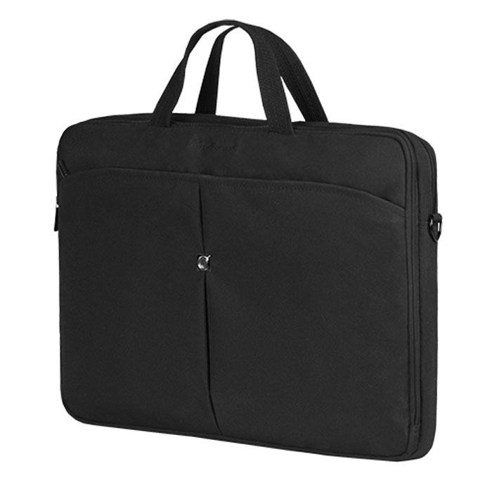 Continent CC-101 сумка для ноутбука 15,6CC-101Continent CC-100 - легкая сумка для ноутбука с вертикальной загрузкой. Помимо ноутбука с диагональю экрана 15 дюймов, в ней может поместиться множество необходимых вещей: журналы или документы, и канцелярские принадлежности. Сумка оснащена плечевым ремнем, поэтому ее удобно носить не только в руке, но и на плече.