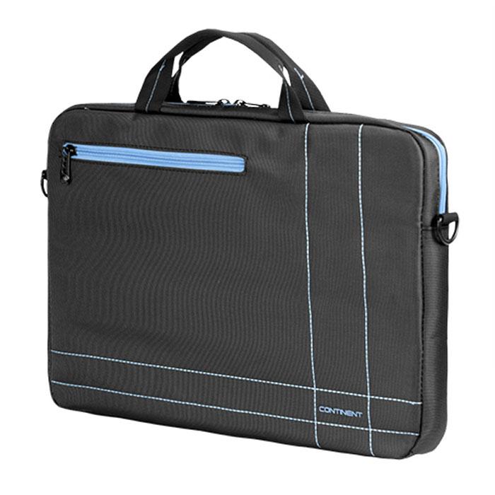 Continent CC-201, Grey Blue сумка для ноутбука 15,6