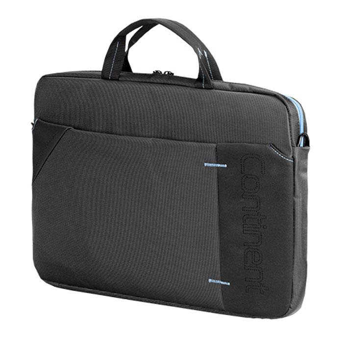 "Continent CC-205, Grey Blue сумка для ноутбука 15,6"""