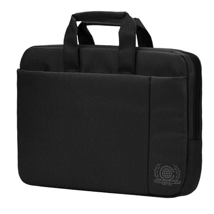 Continent CC-215, Black сумка для ноутбука 15,6