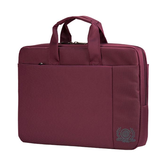 Continent CC-215, Pink сумка для ноутбука 15,6CC-215 PPContinent CC-215 - эргономичная сумка для ноутбука. Помимо ноутбука с диагональю экрана 15 дюймов, в ней может поместиться множество необходимых вещей: журналы, аксессуары, документы, и канцелярские принадлежности. Сумка оснащена плечевым ремнем, поэтому ее удобно носить не только в руке, но и на плече.