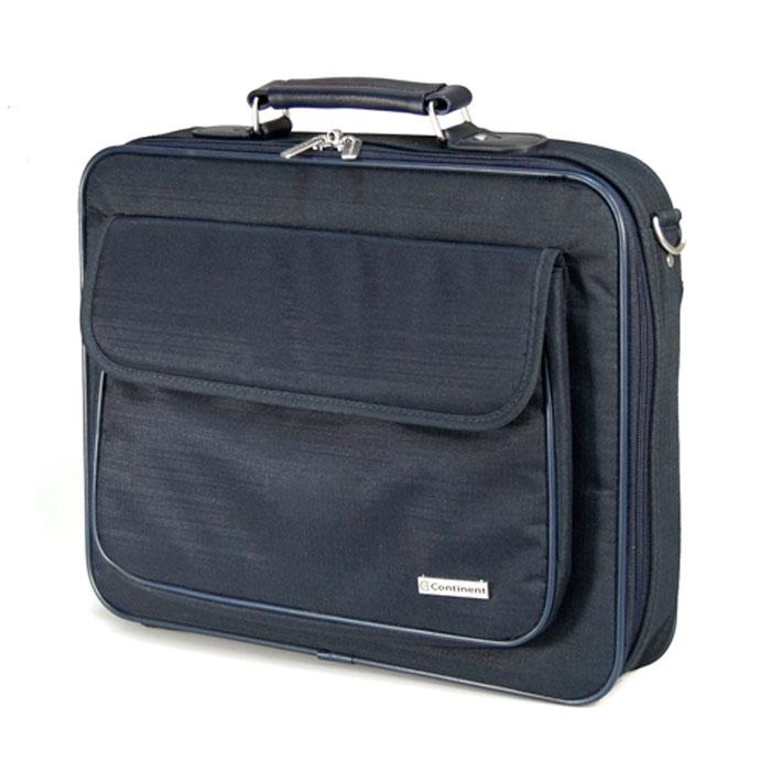 Continent CC-03, Navy сумка для ноутбука 15,6CC-03 NavyContinent CC-03 - строгая и удобная сумка для переноски и защиты ноутбука. Благодаря своим полноформатным размерам сумка просто незаменима для деловых людей - столько в ней отделений для бумаг и документов. А благодаря своей стильной элегантной форме и цветовым решениям - будет интересна молодым и энергичным людям. Если Вы возите ноутбук с собой на работу, в путешествия, или просто часто берете его с собой, то на своем опыте убедились, что сумка для ноутбука просто необходима.