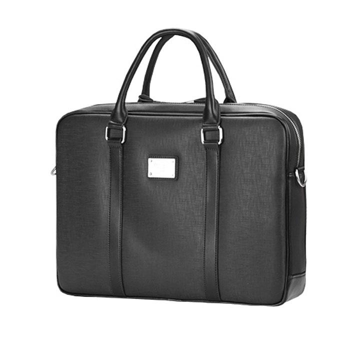 Continent CM-121, Black сумка для ноутбука 15,6CM-121 BlackContinent CM-121 - эргономичная и стильная сумка для вашего ноутбука с дисплеем до 16 дюймов. Изделие имеет два основных внутренних отделения. В остальные внутренние карманы можно поместить различные аксессуары и принадлежности.
