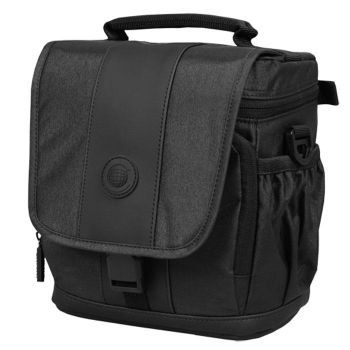 Continent FF-02, Black сумка для фотокамерыFF-02 BlackContinent FF02 - стильная простая и функциональная сумка для фотоаппарата.
