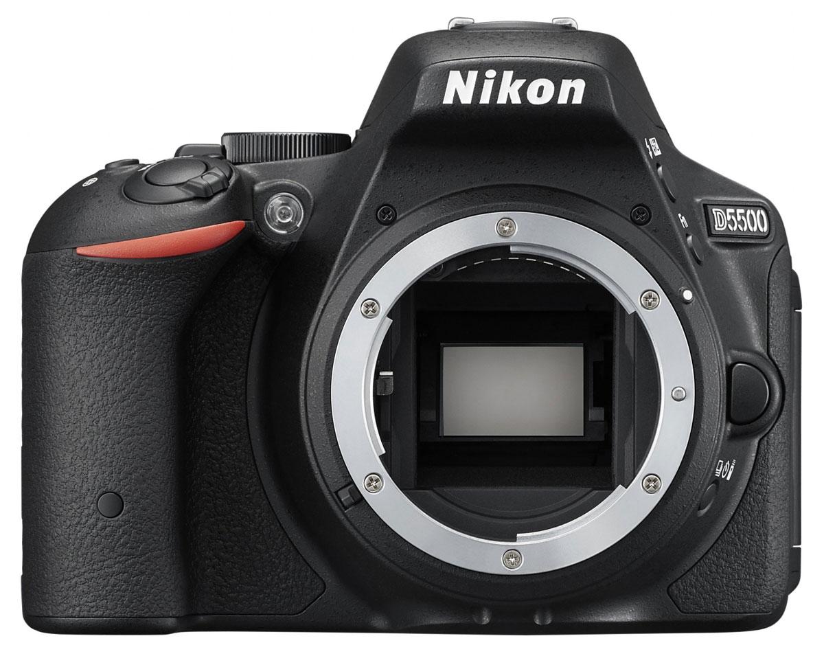 Nikon D5500 Body, Black цифровая зеркальная фотокамераVBA440AEОтобразите красоту окружающего мира на великолепных фотографиях, снятых с помощью фотокамеры D5500. Эта легкая и компактная, но в то же время очень мощная цифровая зеркальная фотокамера с удобным и понятным сенсорным управлением позволяет совершенствоваться в искусстве фотографии. Забудьте о смазанных фотографиях и создавайте яркие детализированные изображения, которые всегда будут в центре внимания. Достигайте непревзойденных результатов даже при съемке быстро движущихся объектов или в условиях недостаточной освещенности. Создавайте фотографии и видеоролики отличного качества даже при недостаточном освещении. Благодаря широкому диапазону чувствительности ISO (100-25 600 единиц) изображения получаются как никогда яркими и детализированными. С мощной 24,2-мегапиксельной матрицей вы поразите друзей снимками с высоким уровнем детализации. Фотокамера D5500 оснащена матрицей с разрешением 24,2-мегапикселя, в конструкции которой не используется...
