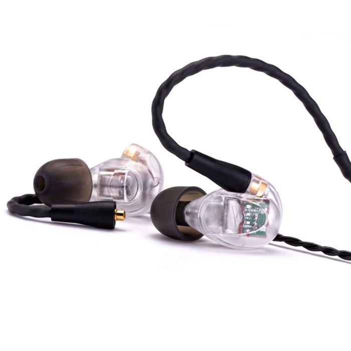 Westone UM PRO30, Clear наушники15116759Westone UM Pro 30 – арматурные наушники с тремя излучателями, независимо передающими низкие, средние и высокие частоты. Благодаря премиальной трехдрайверной структуре удалось добиться ровного сбалансированного звучания на всем частотном диапазоне. Модель идеально подойдет для сценических выступлений, а также студийной и домашней звукозаписи. В комплектацию наушников входят съемный витой кабель EPIC, который обеспечит идеальную посадку благодаря удобной фиксации за ухом, а набор патентованных насадок из силикона Star из пеноматериала True-Fit позволит абстрагироваться от внешних шумов. Пассивная шумоизоляция до 25 дБ Ручная американская сборка
