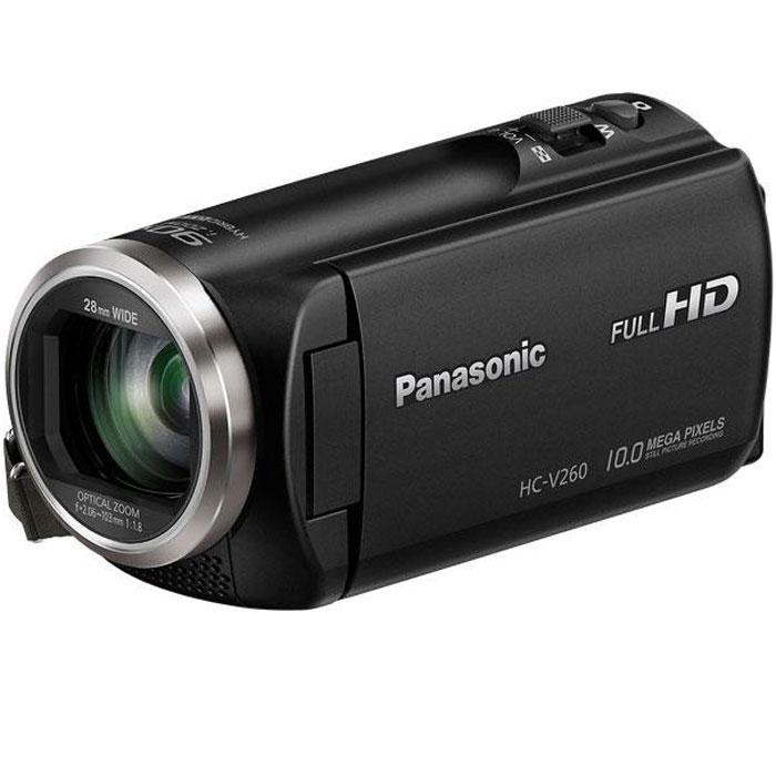 Panasonic HC-V260, Black цифровая видеокамера