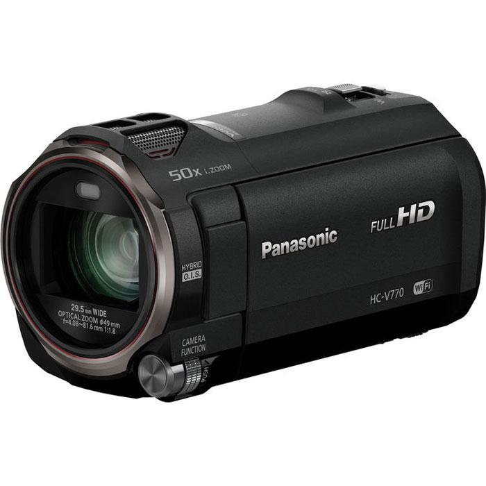 Panasonic HC-V770, Black цифровая видеокамера