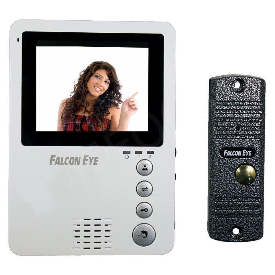 Falcon Eye FE-KIT Дом видеодомофонFE-KIT ДомПодключение к подъездным вызывным системам (через блок сопряжения, в комплект не входит) Регулировка громкости, яркости. Кнопки, расположенные на передней панели домофона, не дадут запутаться в выбираемой вами функции Очень компактные размеры FE-KIT Дом 170Х120х20мм, несомненно, подойдут к любому интерьеру Вашего дома