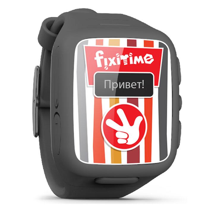 Fixitime FT-101, Black часы-телефон
