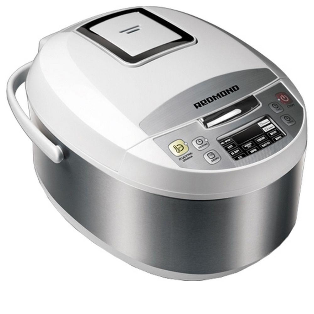 Redmond RMC-FM4520, White мультиваркаRMC-FM4520 WhiteМультиварка Redmond RMC-FM4520 - новая стильная и доступная модель с инновационной технологией Мастерфлай - подъёмным нагревательным элементом (ТЭНом), позволяющим жарить на сковороде и уникальной функцией Мастершеф Лайт, благодаря которой можно изменять температуру и время приготовления прямо в процессе работы программы. Мультиварка Redmond RMC-FM4520 имеет программу Мультиповар, в которой можно самостоятельно установить время и температуру приготовления блюда по собственному рецепту. В модели успешно реализованы 40 программ приготовления и такие важные опции, как поддержание температуры готовых блюд, разогрев, отложенный старт и предварительное отключение автоподогрева. Redmond RMC-FM4520 с запатентованной технологией подъёма ТЭНа (нагревательного элемента) позволяет жарить аппетитные блинчики, готовить ароматные заправки для супов, сочные стейки идеальной прожарки, лёгкие оладьи, яичницу и многое другое. Вы оцените чрезвычайное удобство жарки на сковороде! Зачем...