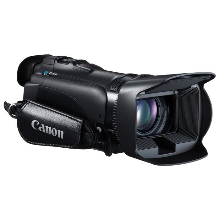 Canon LEGRIA HF G25 цифровая видеокамера8063B004Видеокамера LEGRIA HF G25, созданная специально для энтузиастов видеосъемки, оснащена широкоугольным объективом, обеспечивает широкие возможности ручного управления и исключительное качество записи звука для превосходных фильмов в формате HD. Широкоугольный объектив 30,4 мм: Технологии высокой производительности, воплощенные в превосходном HD-видеообъективе Canon 30,4 мм, F1,8, сочетают в себе 10-кратный оптический зум и 8-лепестковую ирисовую диафрагму, обеспечивающую естественные эффекты дефокусирования. Датчик изображения HD CMOS Pro: Датчик изображения HD CMOS PRO обеспечивает прекрасное качество съемки в условиях низкой освещенности и широкий динамический диапазон. Датчик изображения, разработанный и произведенный компанией Canon для профессиональных видеокамер собирает на 20% больше света. Увеличена чувствительность в условиях низкой освещенности. Полное ручное управление: Кольцо ручной фокусировки позволяет...