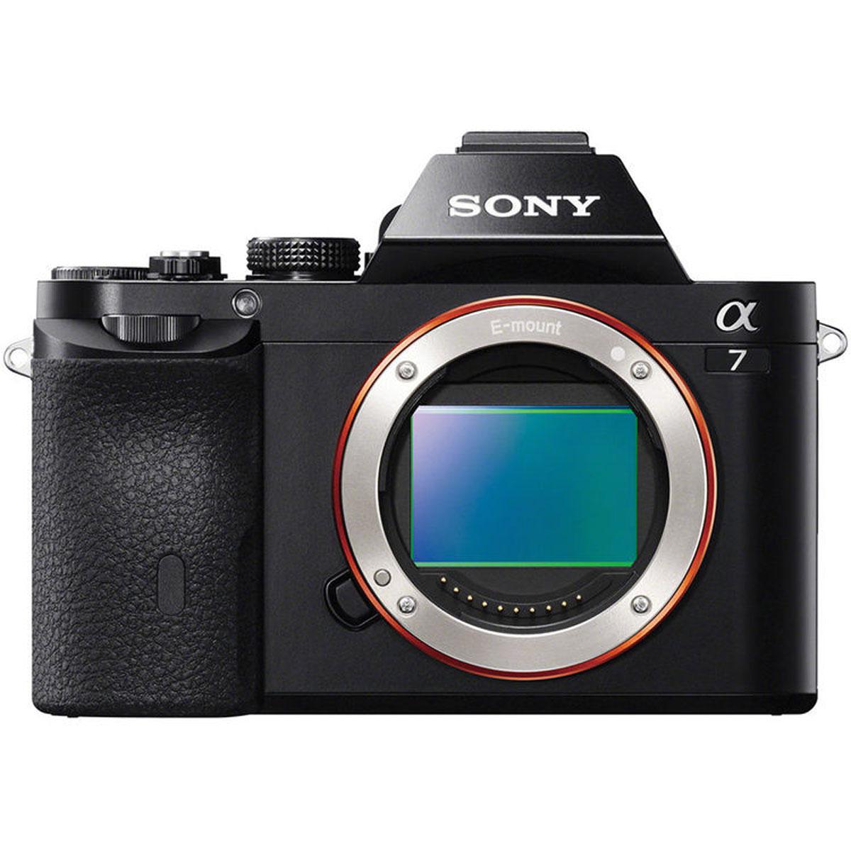 Sony Alpha A7 Body, Black цифровая фотокамераILCE7B.RU2Камера Sony Alpha 7 с байонетом Е и полнокадровой матрицей: 35-мм полнокадровая матрица 24,3 Мпикс: Компания Sony, один из ведущих производителей матриц, объединила свои передовые технологии, чтобы добиться самых высоких показателей разрешения и качества изображения в истории. Эта революционная 35-мм полнокадровая матрица Exmor CMOS фиксирует свет с рекордной эффективностью для обеспечения высокой чувствительности, широкого динамического диапазона и непревзойденного уровня реализма при значительном снижении уровня шума. Процессор BIONZ X: Sony с гордостью представляет процессор изображений BIONZ X, который благодаря дополнительным возможностям высокоскоростной обработки данных тщательно воспроизводит текстуры и мелкие детали в режиме реального времени так же, как Вы их видите невооруженным глазом. В сочетании с большой интегральной схемой внешнего доступа, которая ускоряет обработку на самых ранних этапах, он обеспечивает более...