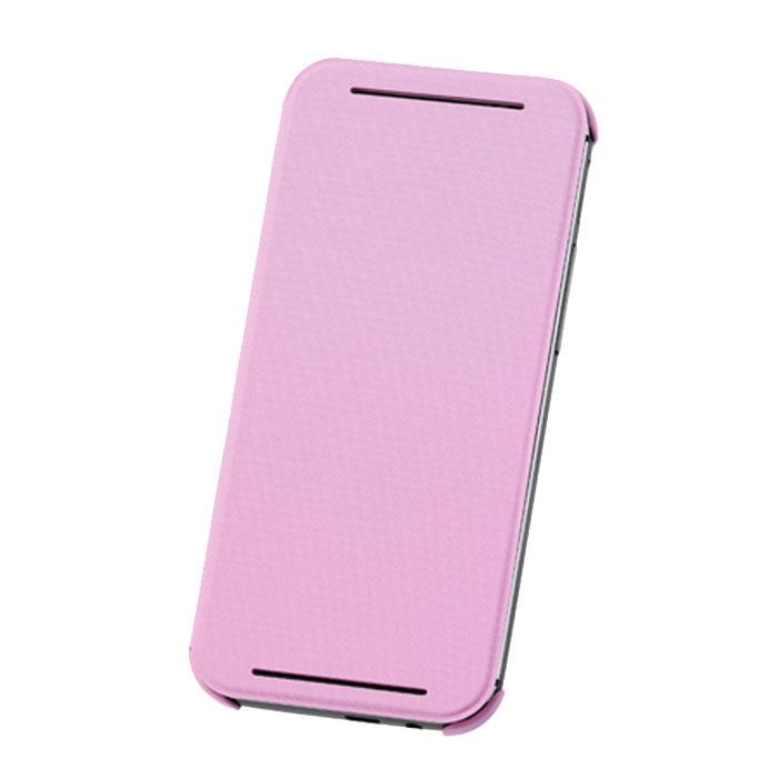 HTC HC V980 чехол для One E8, PinkHC V980_pinkЖесткий чехол HTC HC V980 для смартфона One E8 Dual Sim. Чехол изготовлен из пластика с отгибающейся крышкой, с магнитом для автовключения экрана.