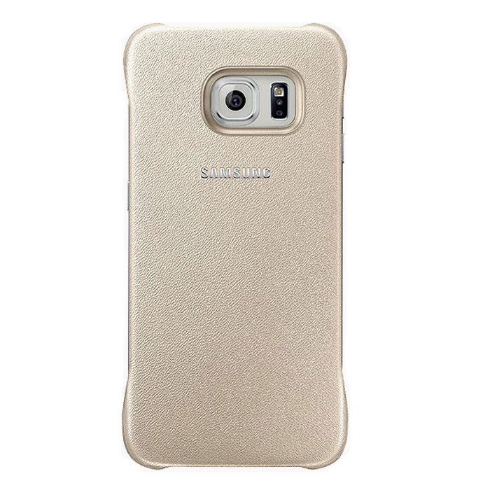 Samsung EF-YG925B Protective Cover чехол для Galaxy S6 Edge, GoldEF-YG925BFEGRUЧехол EF-YG925B крайне полезный аксессуар для Samsung S6 Edge. Аккуратная крышка для задней части объединена в одну деталь с бампером. Этим достигается прекрасный уровень защиты для торцов и крышки аккумулятора Galaxy S6 Edge. Чехол не сильно увеличивает размеры устройства. Оригинальный аксессуар