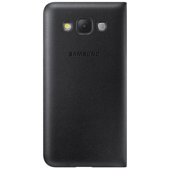 Samsung EF-WE500B Flip Wallet чехол для Galaxy E5, Black