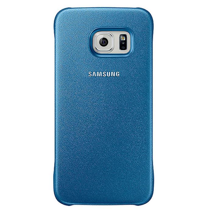 Samsung EF-YG920B Protective Cover чехол для Galaxy S6, BlueEF-YG920BLEGRUЧехол Samsung EF-YG920B Protective Cover для Galaxy S6 отлично подойдёт для вашего устройства, так как он сочетает в себе удобство и функциональность, а также сможет защитить ваш смартфон от внешних повреждений. Имеет свободный доступ ко всем разъемам устройства.