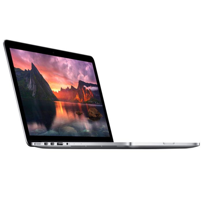 Apple MacBook Pro 13.3 (MF839RU/A)MF839RU/AApple MacBook Pro - легендарный ноутбук с экраном двойного разрешения, с трекпадом Force Touch, процессорами Intel Core 5-го поколения, более быстрыми флэш-накопителями и увеличенным временем работы от аккумулятора. Пять миллионов пикселей. Один дисплей: На экране 13-дюймовой модели более 4 миллионов пикселей. Вы можете ретушировать фотографии и монтировать домашние фильмы с потрясающим HD качеством. Тексты выглядят кристально чёткими, поэтому такие ежедневные занятия, как поиск в интернете и чтение электронной почты, становятся непередаваемым удовольствием. Это достойный дисплей для самого совершенного ноутбука в мире. Больше цвета и контраста. И меньше бликов: Новый дисплей Retina уменьшает блики, обеспечивая при этом превосходные цвета и качество изображения. Его контрастность на 29% выше, чем у стандартного экрана MacBook Pro. Чёрный цвет выглядит темнее. А белый - светлее. И все остальные цвета также отличаются богатством и...