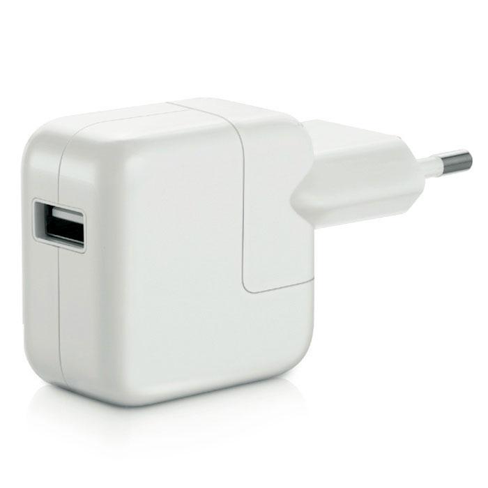 Apple USB Power Adapter 12W зарядное устройство (MD836ZM/A) адаптер apple usb ethernet adapter [mc704zm a]