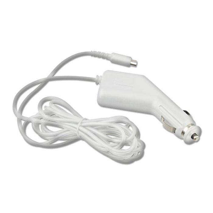 Автомобильный адаптер для Nintendo DS Lite (белый)