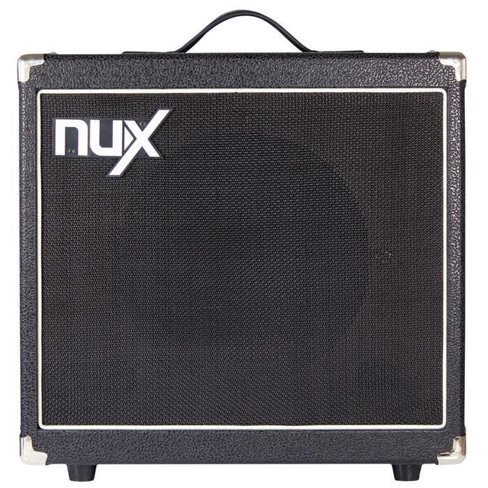 Nux Mighty30SE гитарный комбоусилительMighty30SENux Mighty30SE - это программируемый усилитель нового поколения семейства NUX. Благодаря оригинальной технологии TS/AC Technology, звук комбоусилителя обладает полнотой динамичного воспроизведения звука, моментально реагирующего на разностилевое исполнение. В основе электронной начинки процессоров NUX лежит технология TS/AC, что означает True Simulation of Analog Circuits - подлинная имитация аналоговых устройств. Ранее цифровым устройствам было сложно имитировать звучание аналоговых ламповых усилителей и процессоров. Причина крылась в том, что аналоговые устройства имеют намного больший диапазон, чем цифровые. Но использование технологии TS/AC на основе нелинейных математических алгоритмов, позволило намного больше приблизиться к естественному аналоговому звучанию. Даная модель позволит вам сохранить до 16 пресетов, которые можно переключать, используя ножную педаль. Вы также можете усиливать звук через бустер во время соло исполнения, переключать...