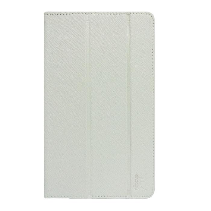 Snoogy SN-UNI8 чехол для планшетов 8, White (кожа)SN-UNI8-WHT-LTHЧехол Snoogy для планшетов диагональю 8 изготовлен в России из качественных материалов с фактурным рисунком. Держатель устройства - 4 эстетичных тонких и надежных пластиковых уголка, которые крепко фиксируют гаджет. Чехол имеет свободный доступ ко всем разъемам и кнопкам устройства. Передняя крышка служит подставкой для альбомной ориентации планшета. Упаковка для чехла Snoogy представляет собой самостоятельный продукт - она выполнена в качестве косметички и может использоваться для хранения и перевозки полезных мелочей! У чехла отсутствует неприятный запах!