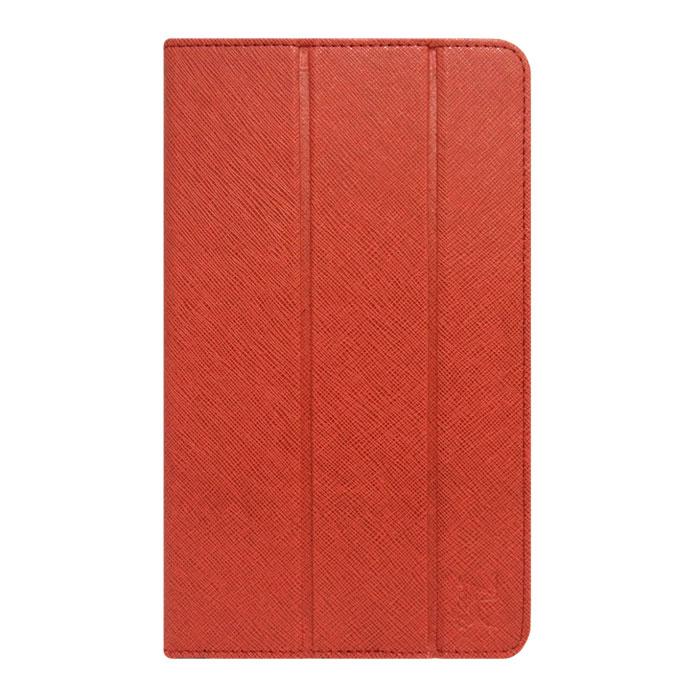 Snoogy SN-UNI8W чехол для планшетов 8, Red (кожа)SN-UNI8W-RED-LTHЧехол Snoogy для планшетов диагональю 8 изготовлен в России из качественных материалов с фактурным рисунком. Держатель устройства - 4 эстетичных тонких и надежных пластиковых уголка, которые крепко фиксируют гаджет. Чехол имеет свободный доступ ко всем разъемам и кнопкам устройства. Передняя крышка служит подставкой для альбомной ориентации планшета. Упаковка для чехла Snoogy представляет собой самостоятельный продукт - она выполнена в качестве косметички и может использоваться для хранения и перевозки полезных мелочей! У чехла отсутствует неприятный запах!