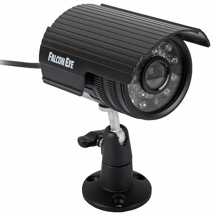 Falcon Eye FE I80C/15M уличная камера видеонаблюденияFE I80C/15M F(3.6)Камера высокого разрешения Falcon Eye FE I80C/15M для использования как внутри помещений так и с наружи. Камера оснащена наиболее востребованным объективом f=3,6 c углом обзора 75 градусов. Наличие ИК подсветки позволяет использовать камеру и при отсутствии внешнего освещения. Отношение сигнал/шум: 48 дБ Тип развёртки: 2:1 чересстрочная